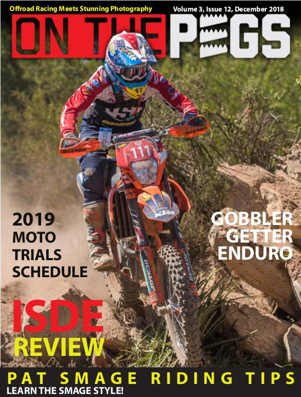 On The Pegs December 2018 - Volume 3 - Issue 12