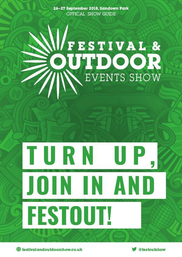 Festival & Outdoor Events Show Show Guide 2018