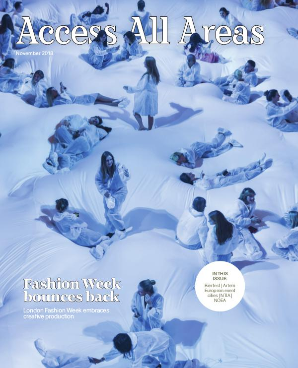 Access All Areas November 2018