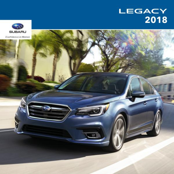 2018 Legacy Brochure