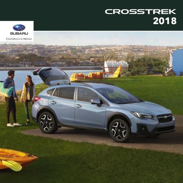 Subaru Crosstrek Brochures 2018 Crosstrek Brochure