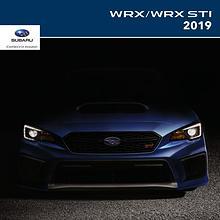Brochures Subaru WRX et WRX STI