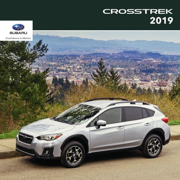 Subaru Crosstrek Brochures 2019 Crosstrek Brochure