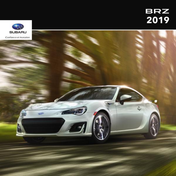 Brochures Subaru BRZ Brochure BRZ 2019