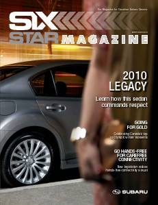 Six Star Magazine Winter 2009/2010 Legacy
