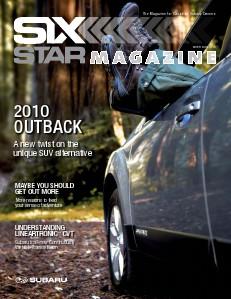 Six Star Magazine Six Star Magazine Winter 2009/2010 Outback