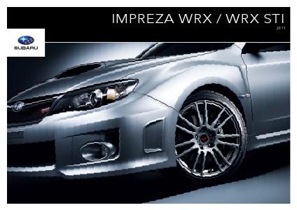 2011 Impreza WRX & WRX STI Brochure