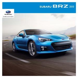 Brochure BRZ 2013