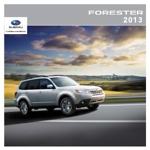 2013 Forester Brochure