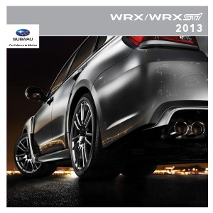 2013 WRX & WRX STI Brochure