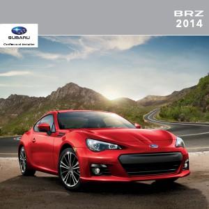 Brochures Subaru BRZ Brochure BRZ 2014