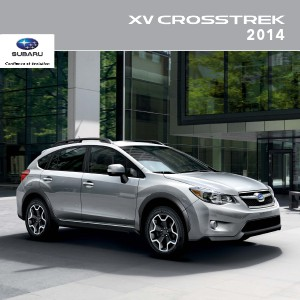 Brochures Subaru Crosstrek Brochure XV Crosstrek 2014