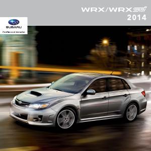Brochures Subaru WRX et WRX STI Brochure WRX et WRX STI 2014