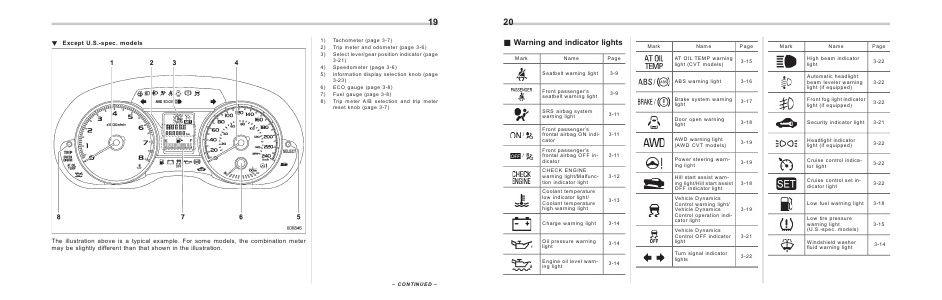 Subaru Crosstrek Manuals 2013 Xv Crosstrek Owners Manual