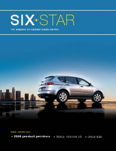 Six Star Magazine Six Star Magazine Spring/Summer 2005