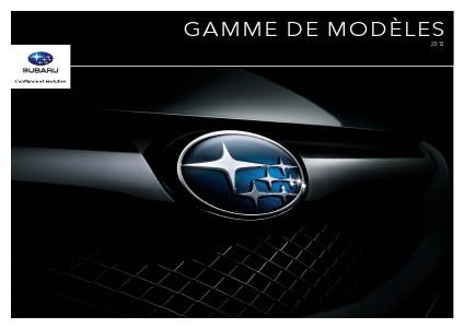 Brochures Subaru Outback Brochure de la gamme 2012