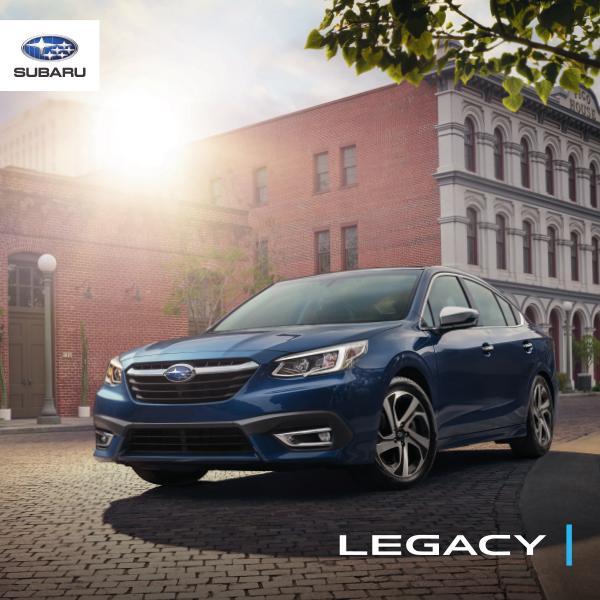 Brochures Subaru Legacy Brochure Legacy 2020