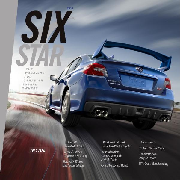 Six Star Magazine Six Star Magazine 2014