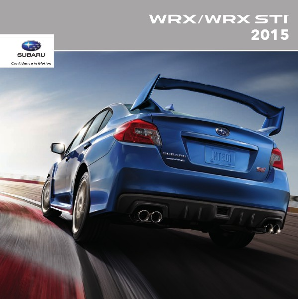 2015 WRX & WRX STI Brochure