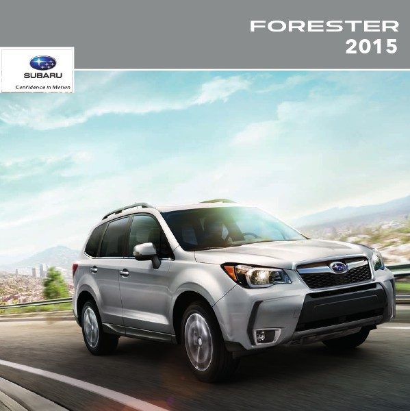 2015 Forester Brochure