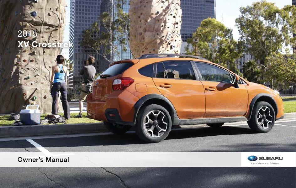 Owner's Manuals - Vehicle Maintenance - Subaru Canada