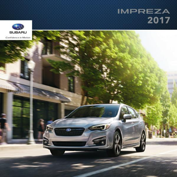 2017 Impreza Brochure