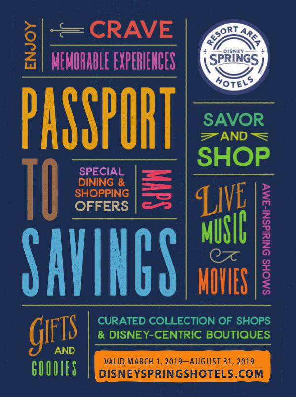 Disney Springs Passport