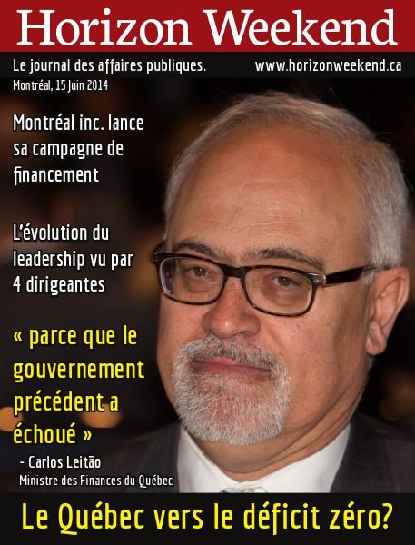 Horizon Weekend Montréal 15 Juin 2014