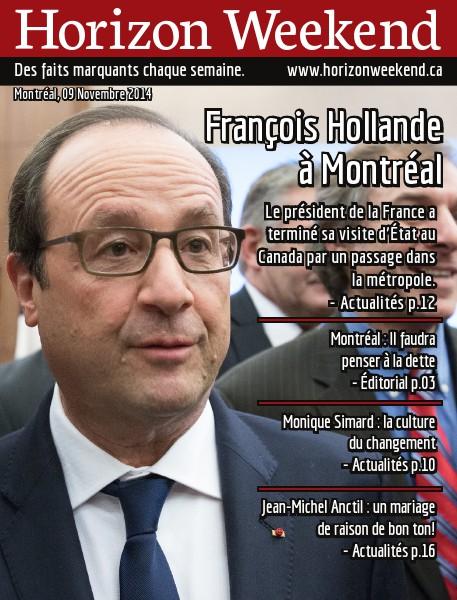 Horizon Weekend Montréal 09 Novembre 2014