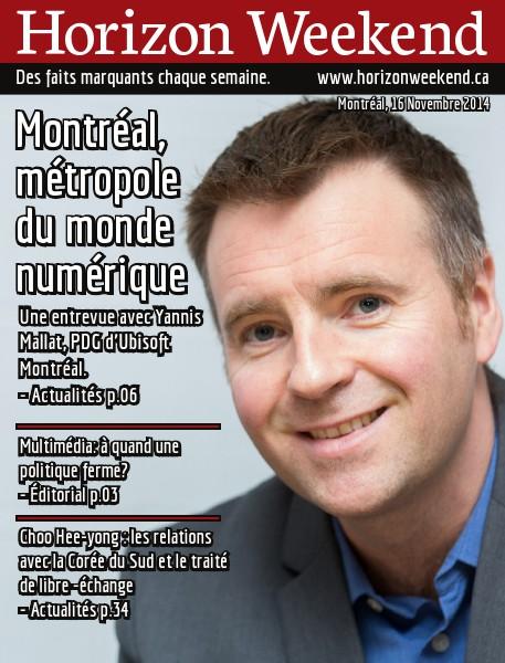Horizon Weekend Montréal 16 Novembre 2014