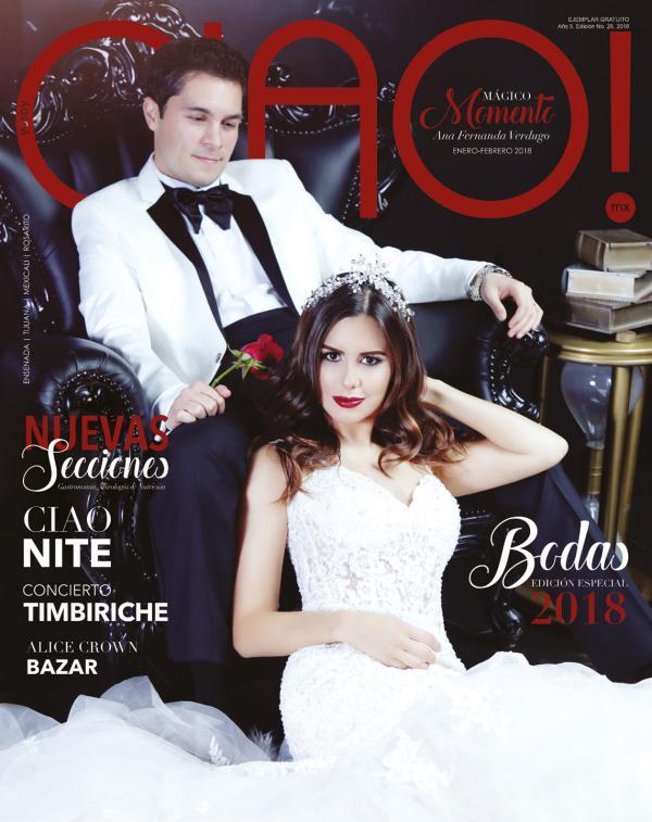 Revista CIAO! Mágico Momento |Enero-Febrero 2018