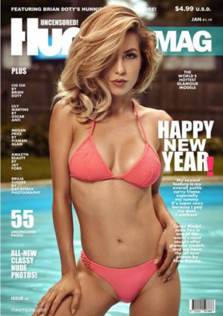 Hunnie Magazine Issue#60 JAN.01.2019