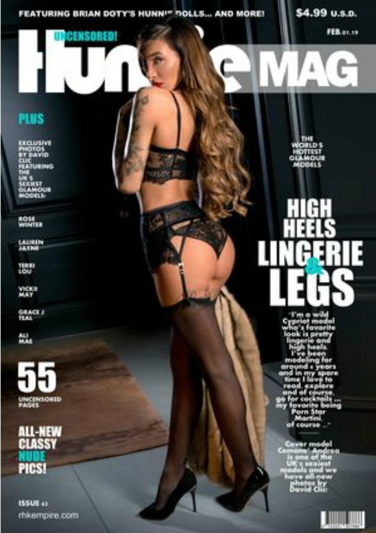 Hunnie Magazine Issue#62 FEB.01.2019