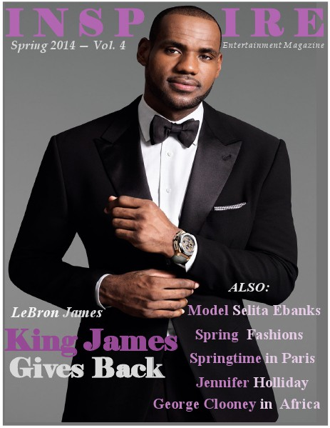 Inspire Entertainment Magazine Spring 2014 - Vol. 4