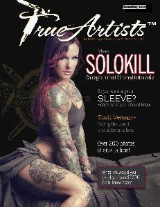TrueArtists Tattoo Magazine Issue 1 December 2013