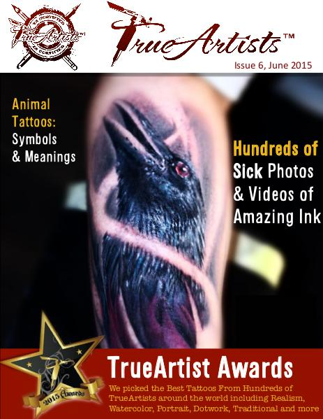 TrueArtists Tattoo Magazine Issue 6