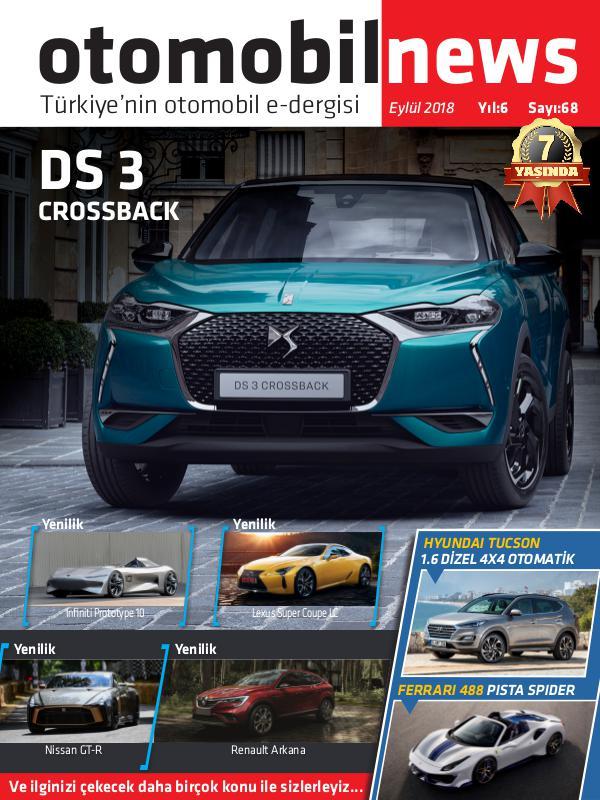 Otomobil News Eylül 2018