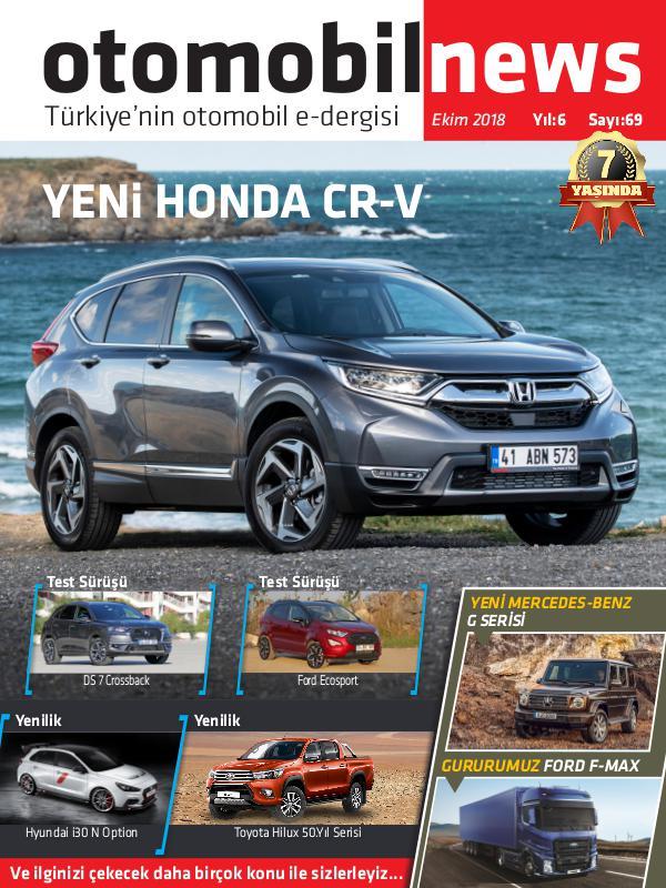 Otomobil News Ekim 2018