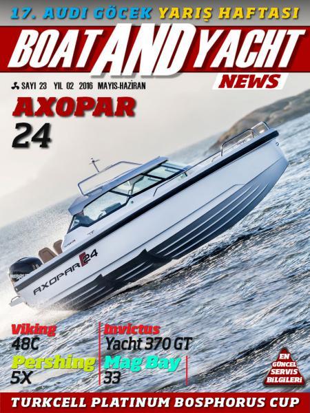 Boat and Yacht News Mayıs-Haziran