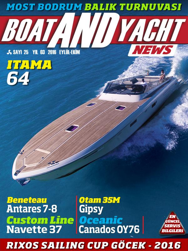 Boat and Yacht News Eylül-Ekim 2016