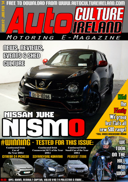 Auto Culture Ireland Issue #2 - Jan/Feb 2014
