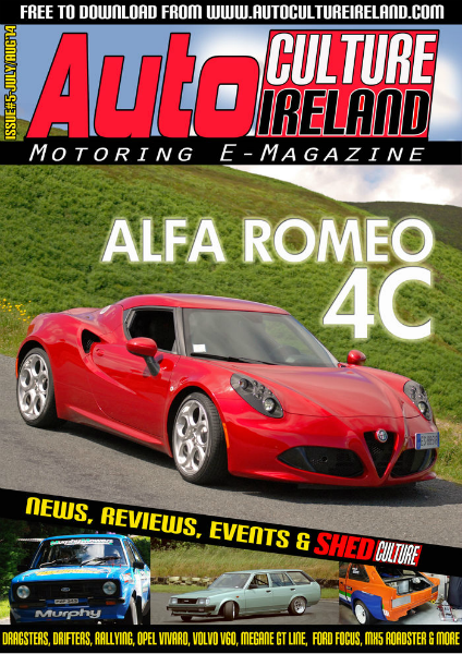 Auto Culture Ireland Issue #5 - July/Aug 2014