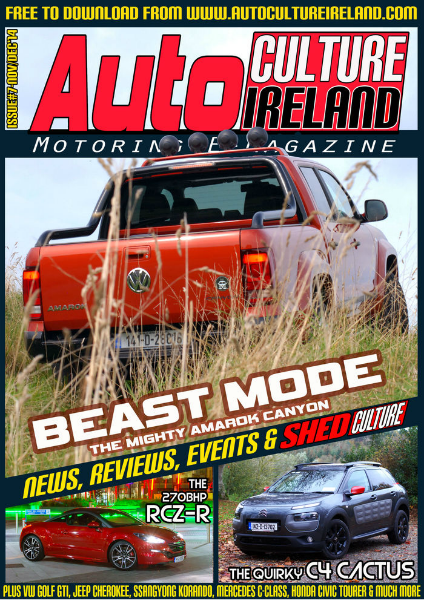 Auto Culture Ireland Issue #7 - Nov/Dec 2014