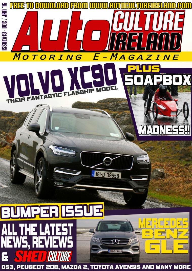 Auto Culture Ireland Issue #13 Dec/Jan 2016