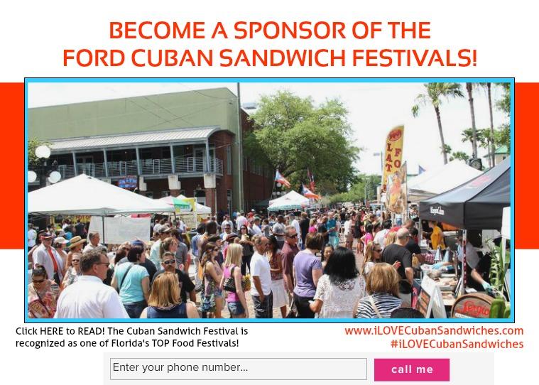 2019 Cuban Sandwich Sponsorships