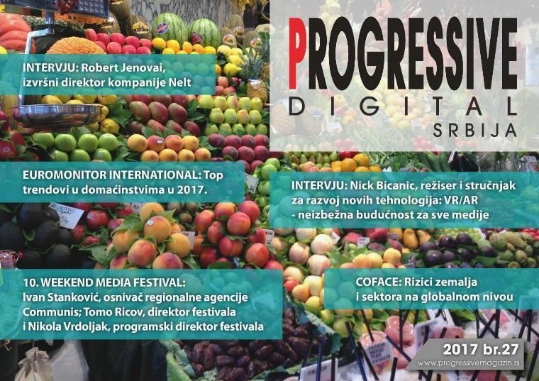Progressive Digital Srbija septembar 2017.