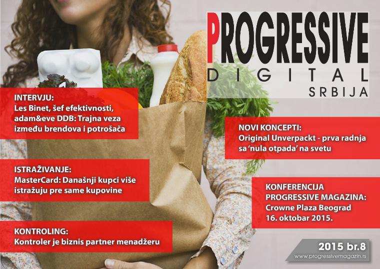Progressive Digital Srbija septembar 2015.