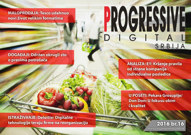 Progressive Digital Srbija maj 2016.