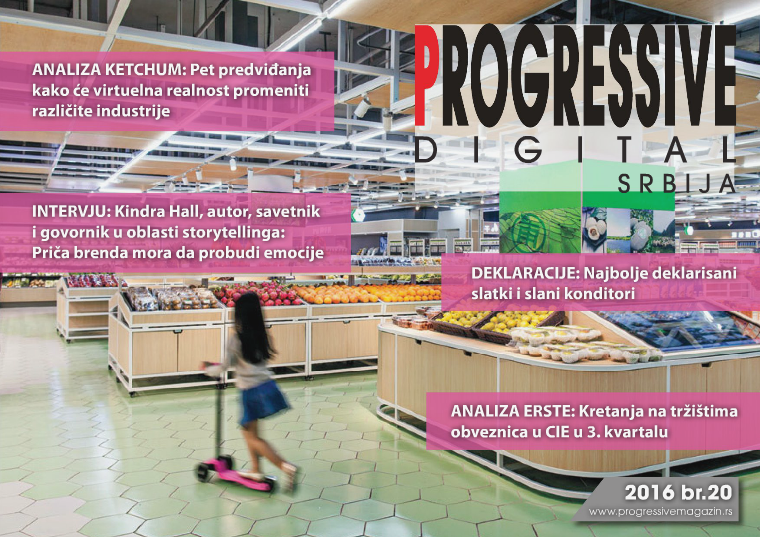 Progressive Digital Srbija septembar 2016.