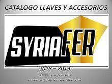 CATALOGO LLAVES Y ACCESORIOS SYRIAFER
